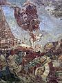 Pisa, Camposanto trionfo della morte 18 a devil stealing a soul.JPG