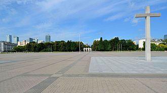 Piłsudski Square - Piłsudski Square with Tomb of the Unknown Soldier