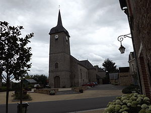 Thourie - The church in Thourie
