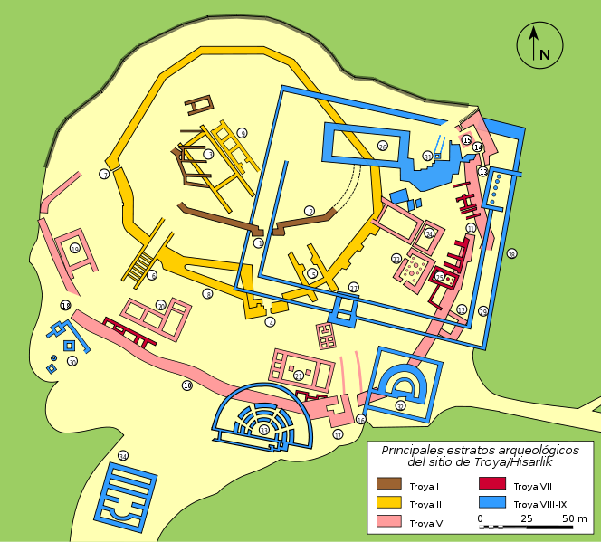 Archivo:Plan Troy-Hisarlik-es.svg