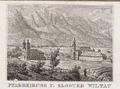 Plan der kk Privinzial-Hauptstadt Innsbruck (Pfarrkirche u Kloster Wiltau).png