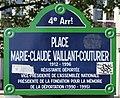 Plaque place Vaillant-Couturier Paris 5.jpg