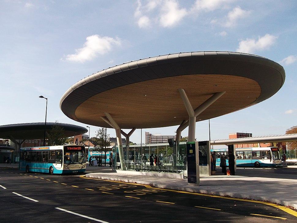 Platform A, Chatham Bus Station (geograph 2646990)