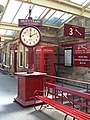 Platform clock, Keighley station - geograph.org.uk - 817065.jpg