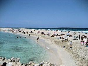 Formentera - Image: Platja Trucadors