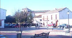 Plaza de la Constitución en Langa (Ávila).JPG