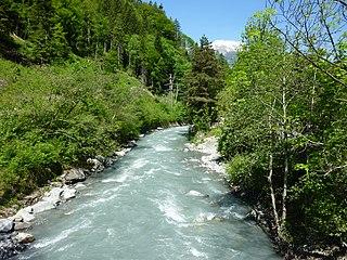 Plessur (river) river in Switzerland