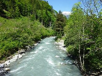 Plessur (river) - The Plessur above Chur.