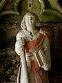 Plouha (22) Chapelle de Kermaria-an-Isquit Porche sud Apôtres 12.JPG