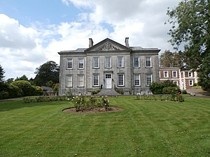 Plympton House - Plympton House, Plympton St Maurice, south front