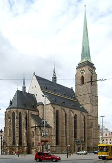 Cathedral of St. Bartholomew (Plzeň) Church in Plzeň, Czech Republic