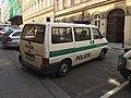 Police car in Prague - Voiture de police dans Prague - CZ Praha 01.jpg