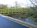 Pont Begard - foot and bicycle bridge over the Elwy, St Asaph - geograph.org.uk - 608398.jpg