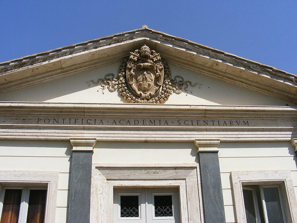 Pontifical Academy of Sciences, Vatican - entrance