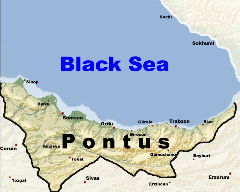 The Pontus region