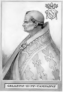 Pope Gelasius II Pope from 1118 to 1119