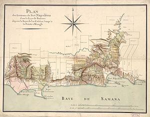 Raid on Samaná - Image: Port Napoléon dans la Baye de Samana