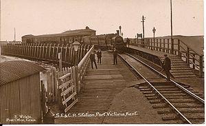 Port Victoria railway station - Image: Port Victoria Station