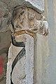 Portale romanico a Santa Croce Venezia capitello a destra 2.jpg