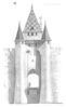 Sketch of a gate of Villeneuve-sur-Yonne