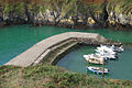 Porthclais harbour breakwater - geograph.org.uk - 1525246.jpg