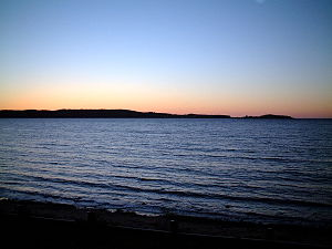 Port Hood, Nova Scotia - September dusk, looking towards Port Hood Island