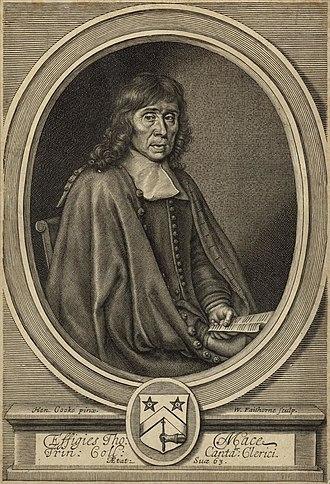 Thomas Mace - Portrait of Thomas Mace