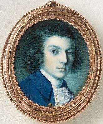 John Parke Custis - Portrait of John Parke Custis by Charles Willson Peale, ca. 1774