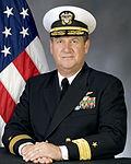 Portrait of US Navy Rear Admiral (lower half) Jan C. Gaudio.jpg