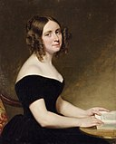 Portrait of a Lady in a Black Gown by George Peter Alexander Healy.jpg