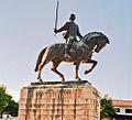 Portugalia Batalha pomnik Nuno Alvares Pereira 02.jpg