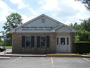 Germansville, Pennsylvania - Post Office in Germansville