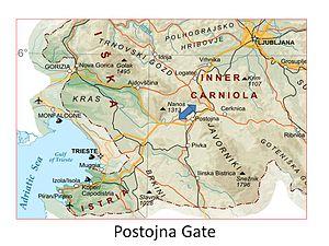 Postojna Gate - Image: Postojna Gate