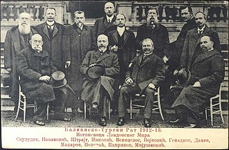 London Conference of 1912–13 - Representatives of the Balkan states