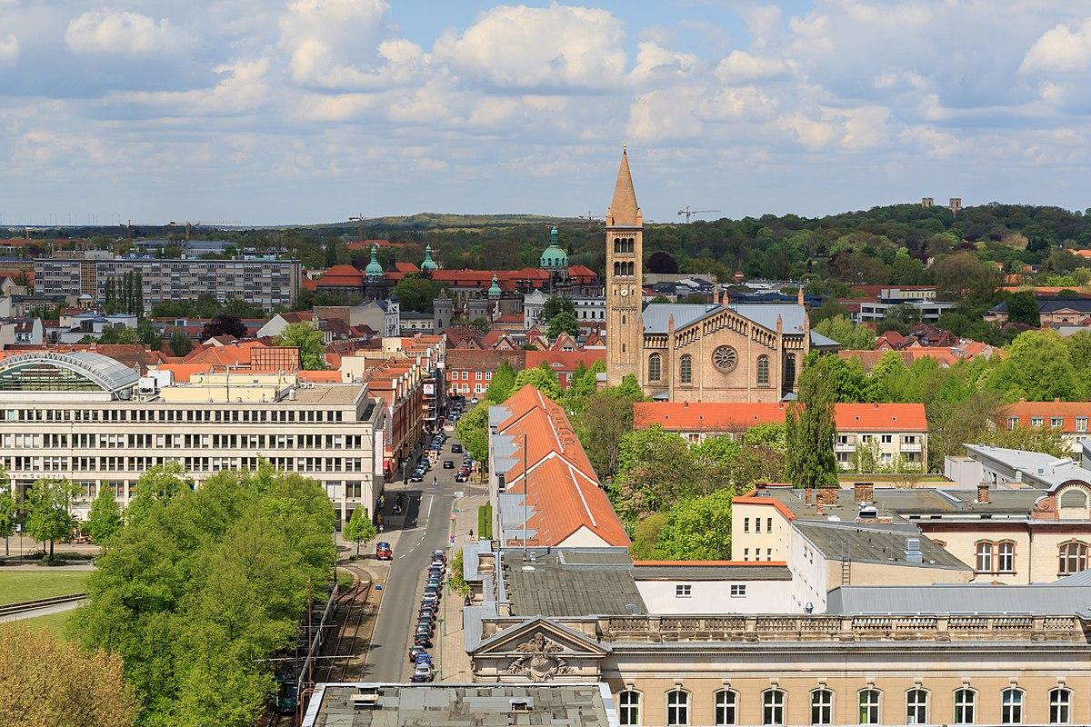 Potsdam wikipedija for Designhotel potsdam