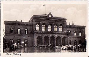 Poznań Central Station.Poznań Główny