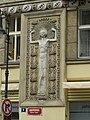 Praha, Kaprova 9, reliéf 01.jpg