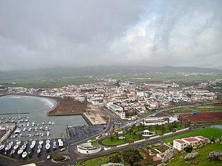 Praia da Vitória Municipality in Azores, Portugal