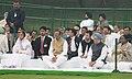 Pratibha Devisingh Patil, the Prime Minister, Dr. Manmohan Singh, the Speaker, Lok Sabha, Smt. Meira Kumar, the Chairperson, National Advisory Council, Smt. Sonia Gandhi, the Member of Parliament, Shri Rahul Gandhi.jpg