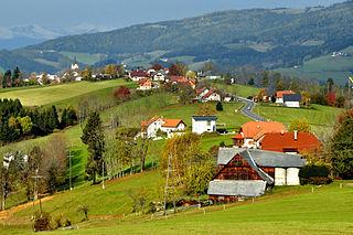 Preitenegg Place in Carinthia, Austria