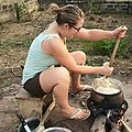 Preparation of a common Africa (Nigeria in particular)meal by a Foreigner.jpg