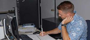 Air Force Capt. Daniel Dean, staff judge advoc...