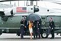 President Trump and First Lady Melania Trump Depart Marine One (47967685293).jpg