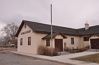 National Register of Historic Places listings in Millard County, Utah - Image: Princess Recreation Hall
