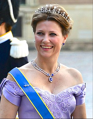 Princess Märtha Louise of Norway - The Princess at the wedding of Princess Madeleine of Sweden, 8 June 2013