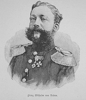 Prince William of Baden (1829–1897) German prince (1829-1897)