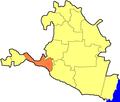 Priyutnensky District in Kalmykia.png