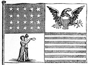 Flag of the President of the United States - Image: Proposed US Presidential Flag 1817