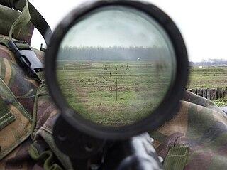 Milliradian unit of of angular measurement used for adjustment of firearm sights and range estimation