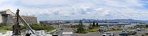 Port Kembla, New South Wales - Port Kembla Harbour, taken from Breakwater Battery